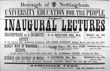 Inaugural lecture series